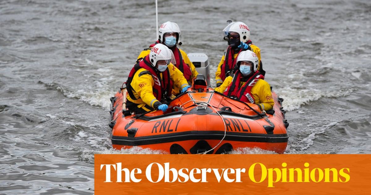 The RNLI deserves better than Nigel Farage's contempt