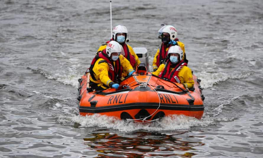 In its 190-year history the RNLI has recorded rescuing 146,000 souls. Their nationalities are not logged.