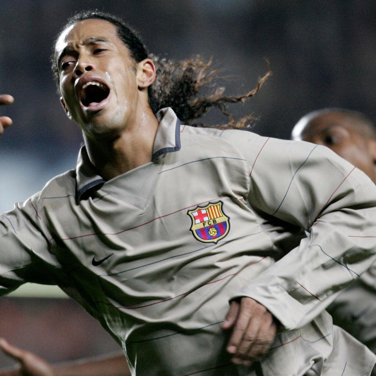 Golden Goal Ronaldinho For Barcelona V Chelsea 2005 Ronaldinho The Guardian