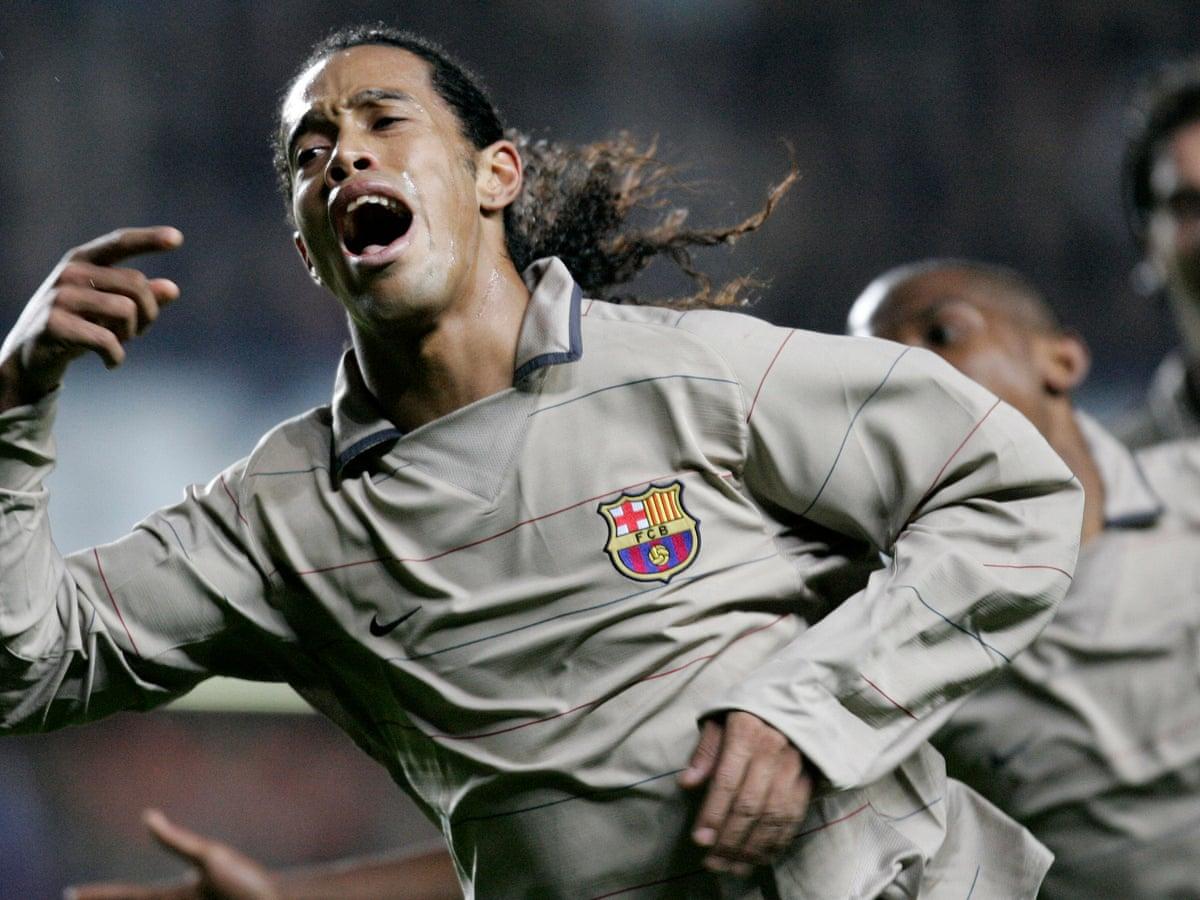 Golden Goal Ronaldinho For Barcelona V Chelsea 2005 Daniel Harris Football The Guardian