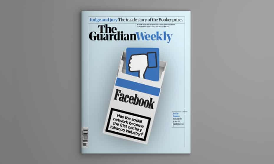 The cover of the 15 October edition of Guardian Weekly.