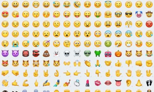 Whatsapp Makes Its Own Unique Emojis That Look Similar To Apples