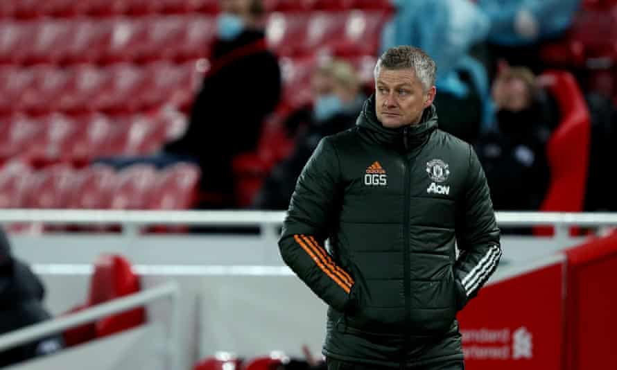 Ole Gunnar Solskjær says his Manchester United side have a 'laser-focus' on becoming Premier League champions.