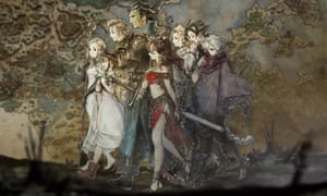 Step into the shoes of eight different characters in the 'dreamlike' Octopath Traveller.