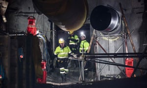 Workers re-open the entrance to the Pike River mine, something the families of those who died in the explosion there have been calling for for years.