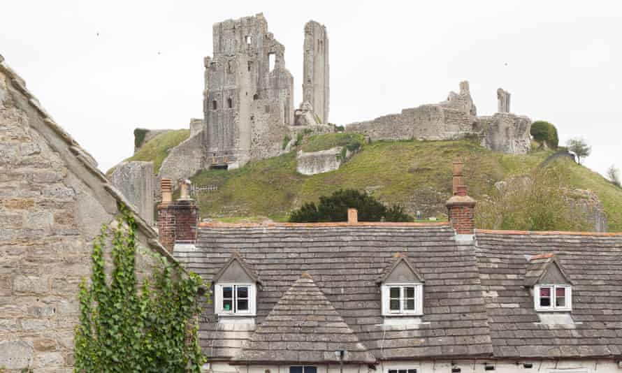 The Ginger Pop shop is in the town square in the Dorset town of Corfe Castle.