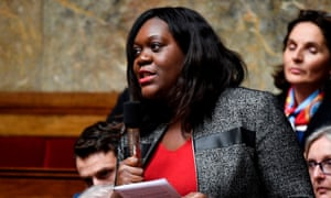 Laetitia Avia, a member of parliament for La Republique En Marche party.