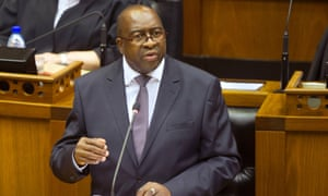 Nhlanhla Nene, who was removed from post late on Wednesday.