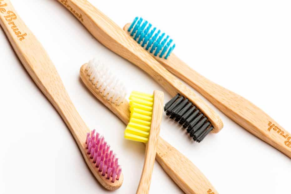 biodegradable toothbrushes with bamboo handles