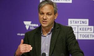 Victoria's chief health officer Prof Brett Sutton.