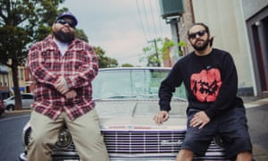 Hip hop artists Briggs and Trials as AB Original, who released a single critical of Australia Day in August