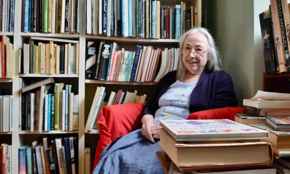 Carole-Anne Warburton at her shop, The Book Rest, in Ilminster, Somerset.