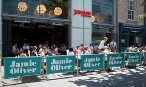 Jamie's Italian in Liverpool.
