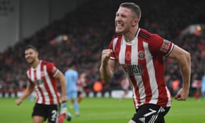 Like his manager at Sheffield United, John Lundstram has worked his way up through the divisions and is thriving in his debut season in the Premier League.