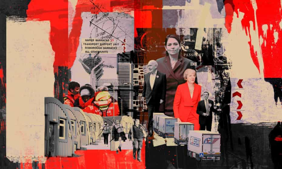 illustration/montage for long read about the home office