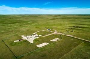 Atlas ICBM launch site, Wyoming