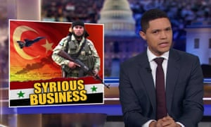Trevor Noah: 'The Middle East was already a geopolitical Jenga tower, and then Donald Trump comes in and he's like, 'What if we move the whole table?''