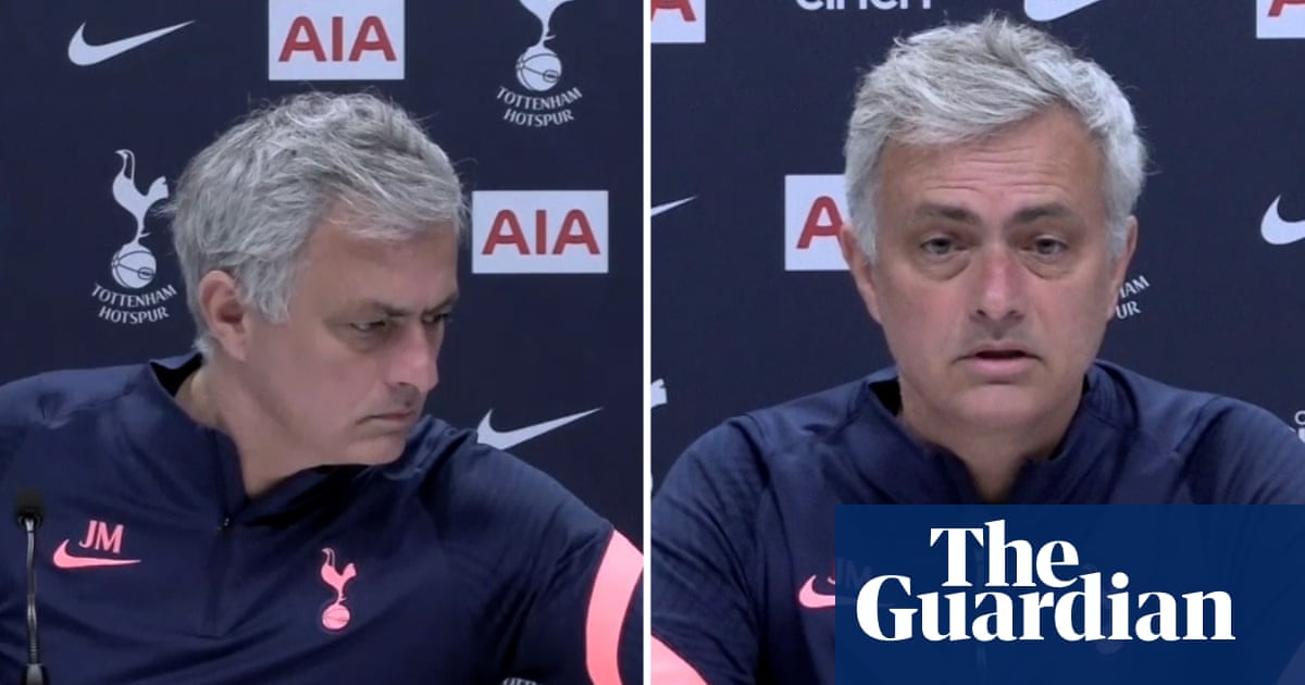 José Mourinho interrupts press conference to pay tribute to Prince Philip – video