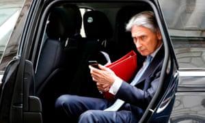 Britain's Chancellor of the Exchequer Philip Hammond