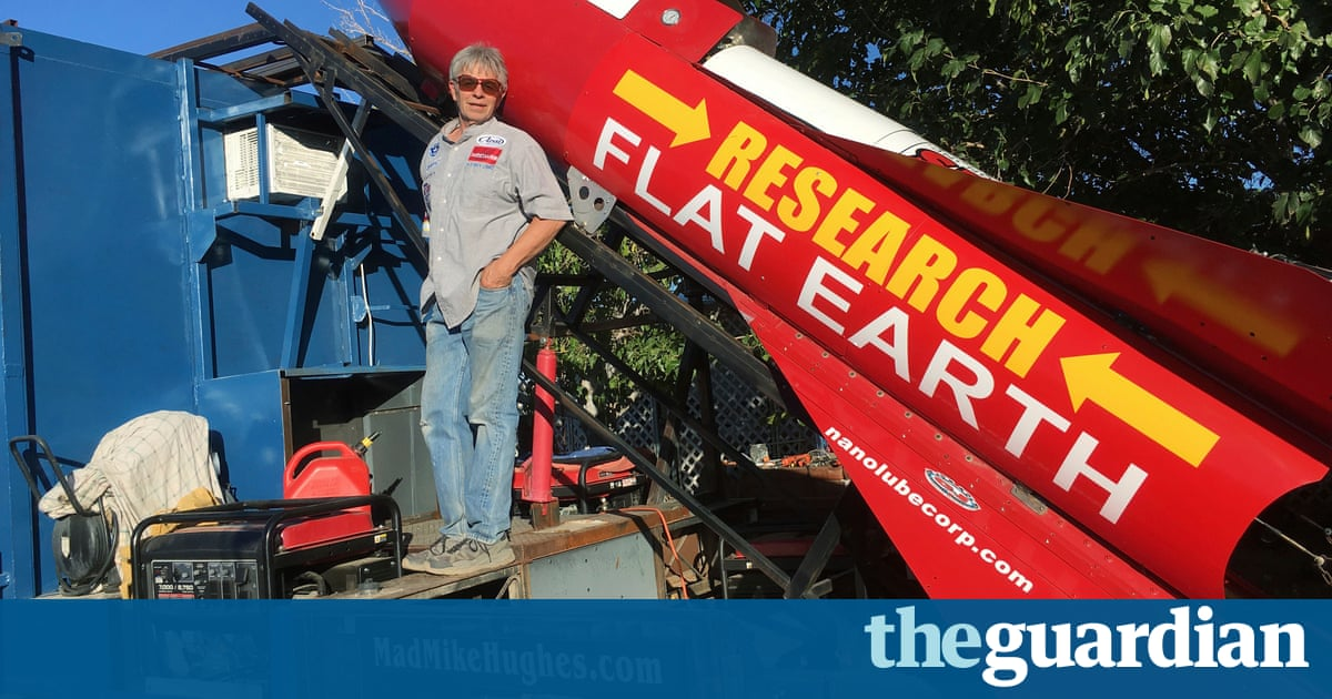 Self-Taught Rocket Scientist Plans Launch to Test Flat Earth Theory