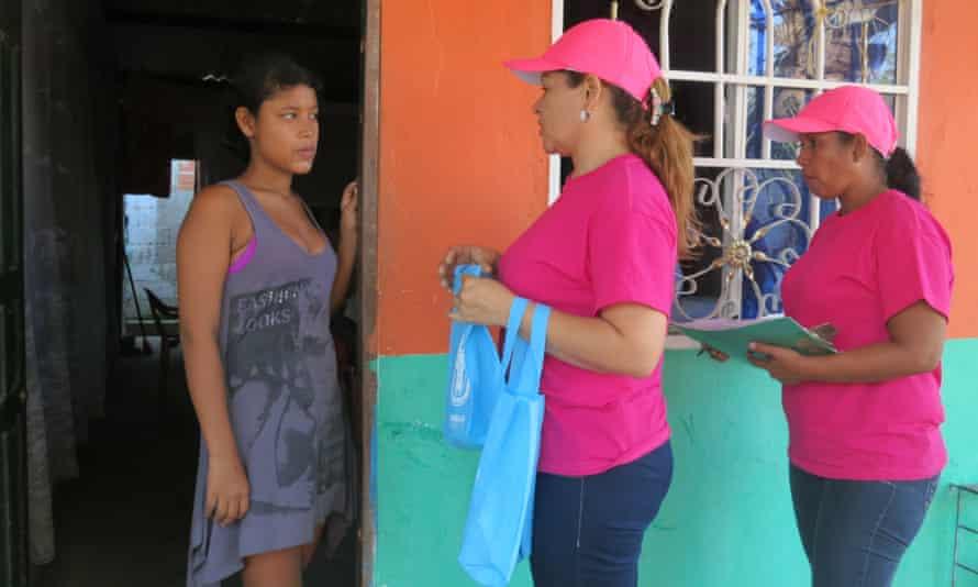 Health workers in Soledad