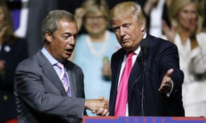 Nigel Farage forged his friendship with Donald Trump after speaking at a campaign rally in Jackson, Mississippi.