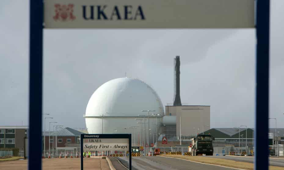 Nuclear research site UKAEA Dounreay