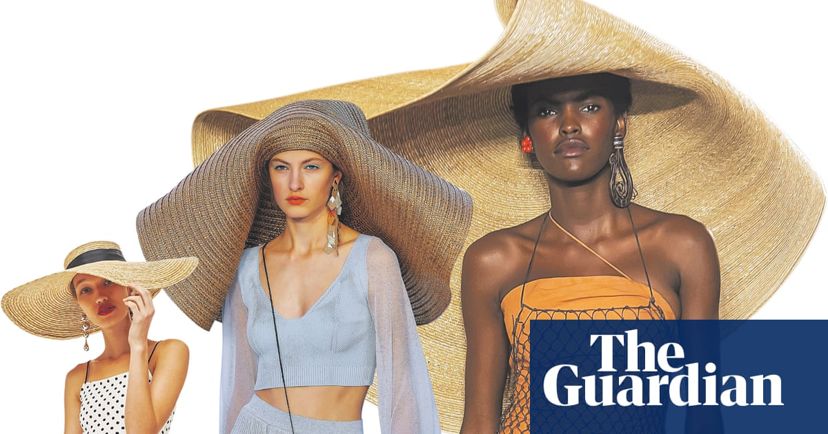 91d3bffcd1f How the giant straw hat is winning summer (and Instagram ...