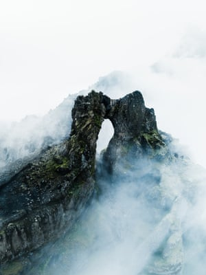 Rock Arch (2018) A basaltic rock archway sculpted by ancient retraction of the surrounding glacial front, Öræfajökull, Iceland