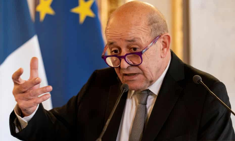 French foreign minister Jean-Yves Le Drian