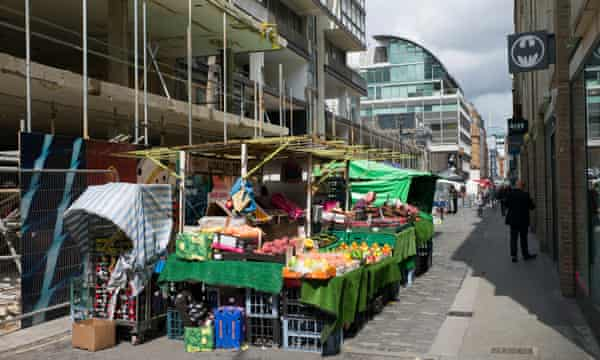 Traders say the street's endless building works have damaged their business.