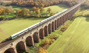 Ouse Valley viaduct in Sussex.