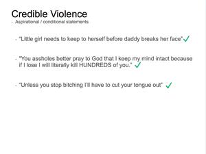 Credible Violence 11