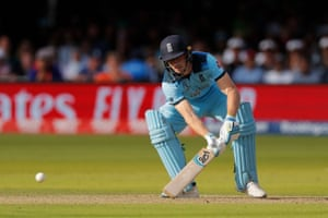 Jos Buttler was typically innovative in his shot selection but he eventually fell on 59 with England on 196-5