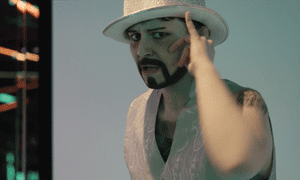 Sammy Silver, one of the drag kings featured in Elizabeth Valentina-Sutton's documentary.