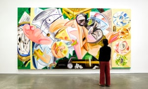 An image of the Dana Schutz exhibition at the Institute of Contemporary Art in Boston.
