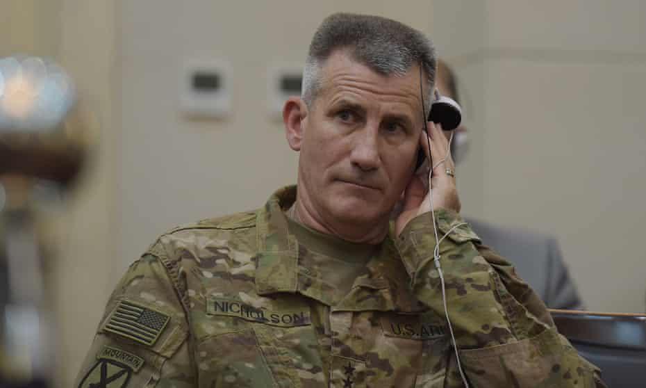 john nicholson afghanistan us military