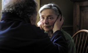 Jean-Louis Trintignant as Georges and Riva as Anne in tthe award-winning Amour 2012