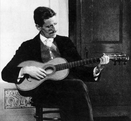 Joyce in Zurich in 1915, where he began working in earnest on Ulysses.