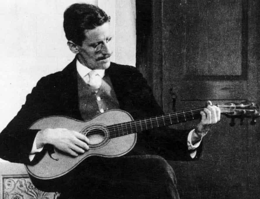 James Joyce in Zurich, 1915.