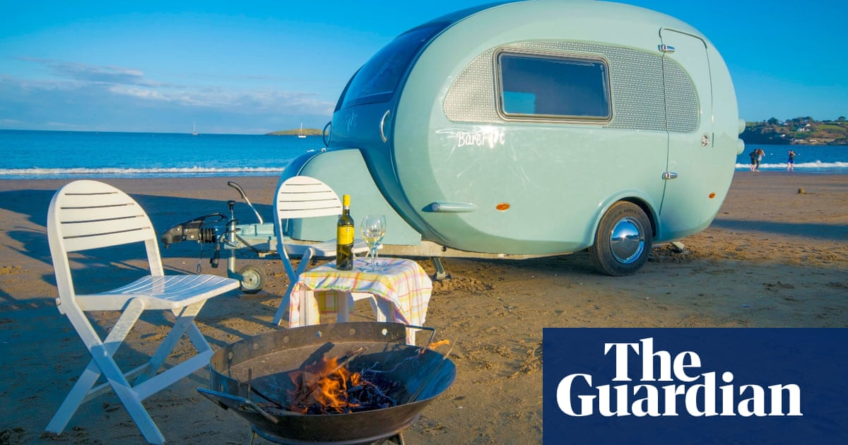 Younger buyers discover joys of caravanning for Covid-era holidays