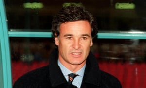Claudio Ranieri, here as manager of Napoli, has managed 10 different Italian teams in a distinguished managerial career.