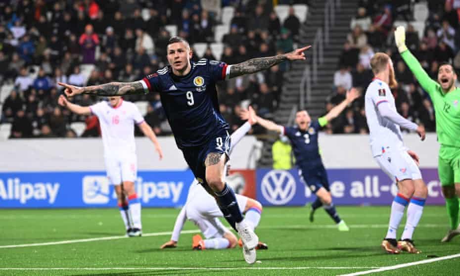 Scotland needed Lyndon Dykes to flamin' save them again.