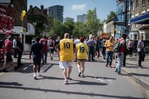 22 April 2018, Premier League: Arsenal 4-1 West Ham.