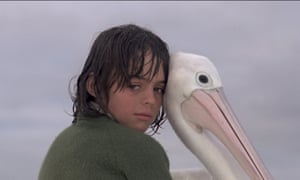 Storm Boy (Greg Rowe) and Mr Percival in Storm Boy, showing at Adelaide film festival.
