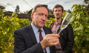 DCI John Barnaby (Neil Dudgeon) and DS Charlie Nelson (Gwilym Lee) in a 2016 episode of Midsomer Murders