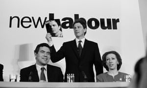 Tony Blair MP is pictured during his successful 1997 General Election campaign.