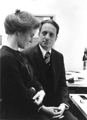Denise Scott Brown and Robert Venturi in 1968.