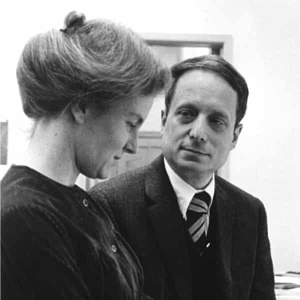 'We're not inviting wives' … Denise Scott Brown and Robert Venturi in 1968.