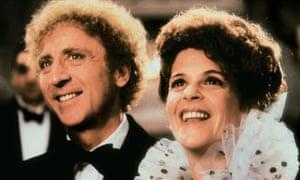 Gene Wilder and Gilda Radner in Haunted Honeymoon in 1986.